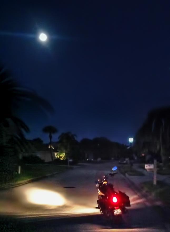 Moonrise Over Vulcan